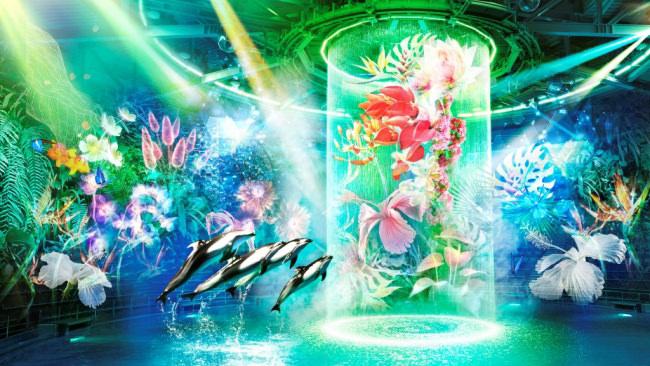 アート×水族館!NAKEDが贈る、花と光あふれる秘密の海とは?