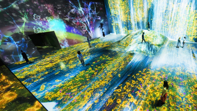 森ビルとチームラボによる世界初のデジタルアートミュージアム