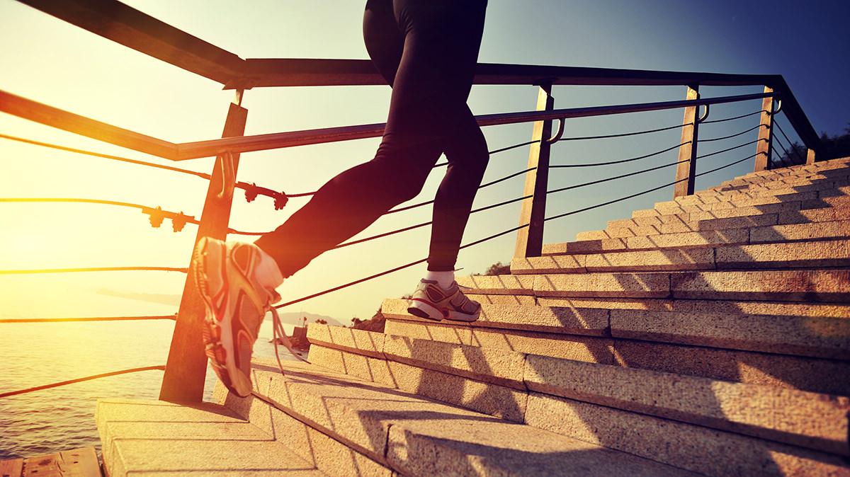 階段上りで心と体のコンディションを整えよう