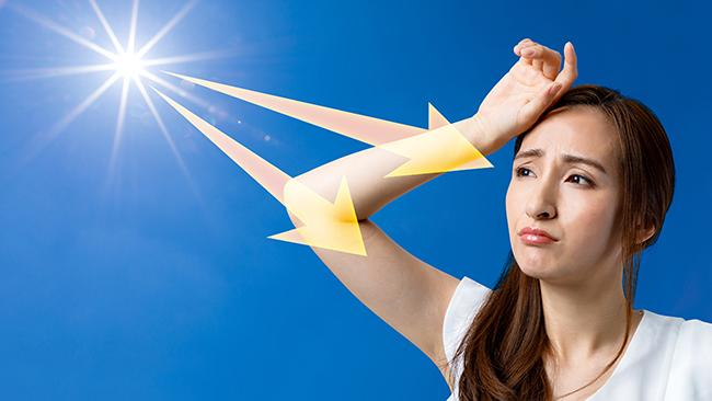 紫外線&自律神経のストレスピークは7月!ストレス性疲労に引き続き要注意!!