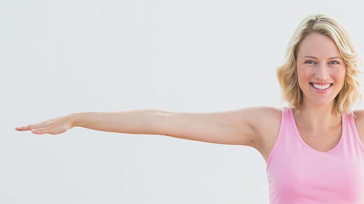 腕を伸ばしてねじる体操でストレスをリセットしよう