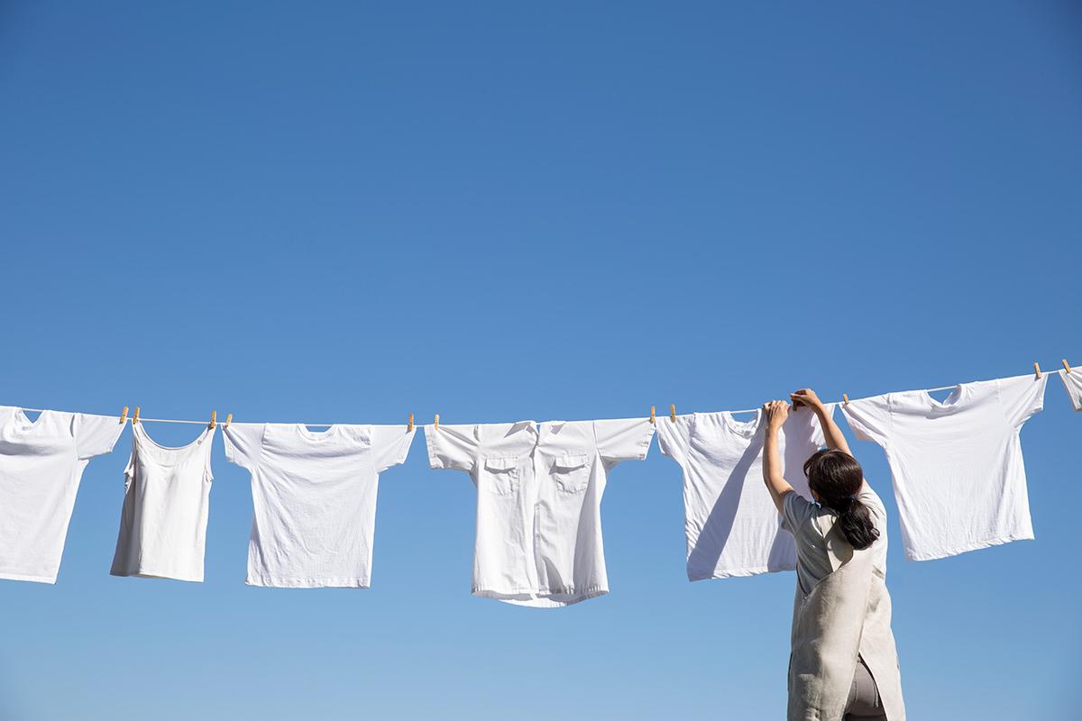 洗濯の「たたむ」「取り出す」工程と生理的・心理的影響を大学との共同研究で科学的に解析!