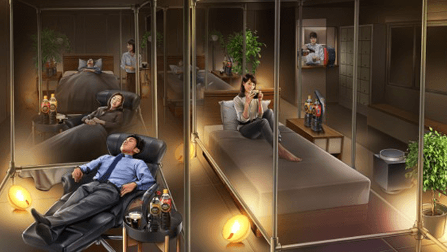 ぐっすり派?仮眠派?睡眠×コーヒーで使い分ける!「ネスカフェ 睡眠カフェ」が常設に