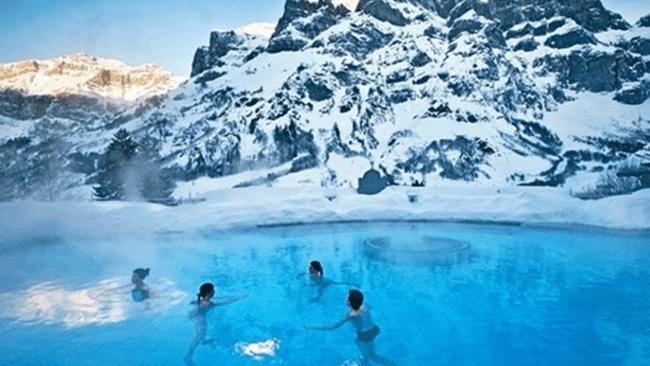 世界の温泉地巡り スイス – ロイカーバード