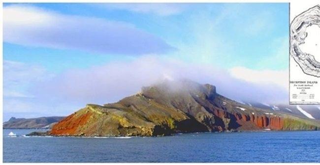 世界の温泉地巡り 南極海 – デセプション島