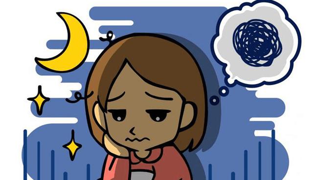 【眠れない悩み】対策③ 昼に眠たい昼夜逆転型の不眠には「頭頂部のツボ」を刺激